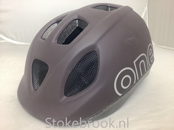 Bobike One Coffeebrown fietshelm S